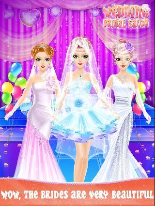 wedding bridal salon game