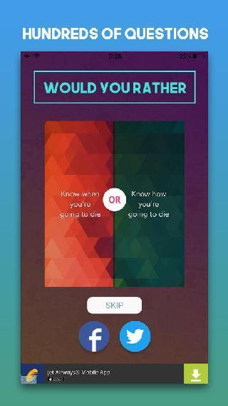 what would you rather do?