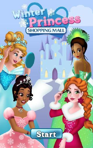 winter princess shopping mall