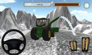 winter snow blower truck sim