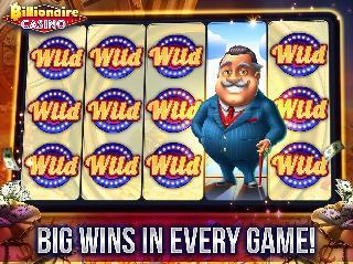 billionaire casino slots games