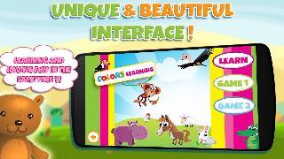 colours learning game for kids