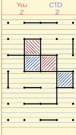 connect the dots - make boxes