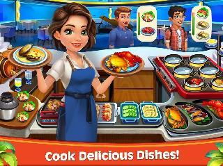 cooking rush - chef's fever games