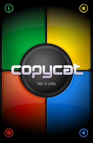 copycat: simon says game