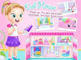 doll house cleanup full