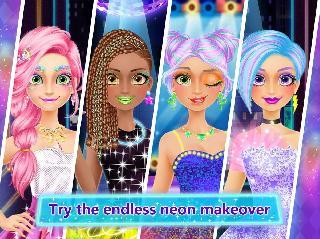 high school dance makeover