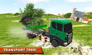 logging truck farm simulator
