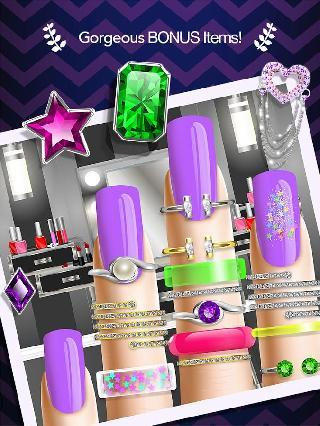 nail salon manicure girl game