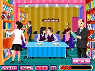 naughty romance school games