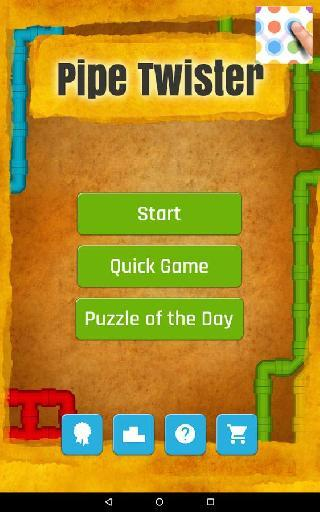 pipeline builder: puzzle game