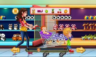shopping game kids supermarket