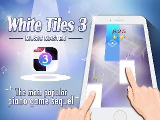 tap piano whilte tiles