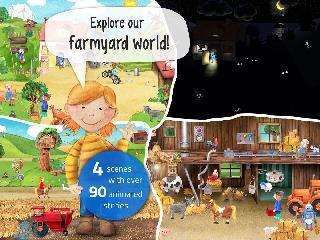 toddler's app: farm animals