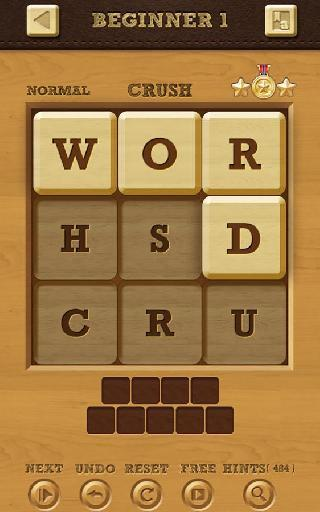 word crush: hidden words