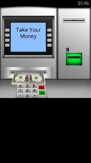 atm cash and money simulator