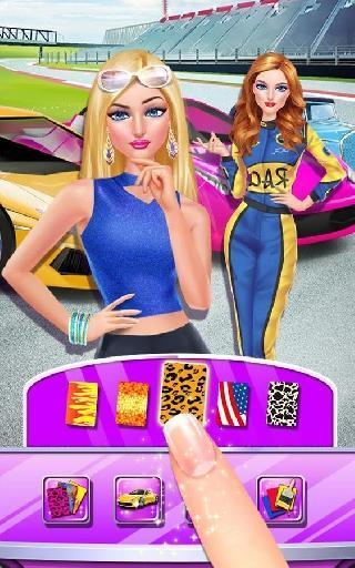 fashion car salon - girls game