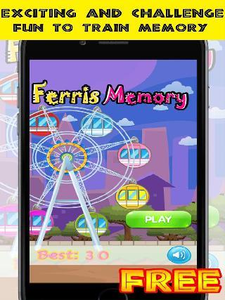 ferris memory - brain training