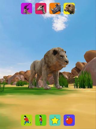lion, virtual pet