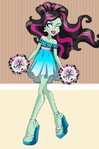 monsters girls fashion style