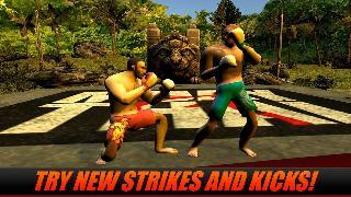 muay thai box fighting 3d