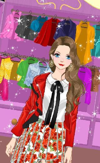 princess dress up doll fashion
