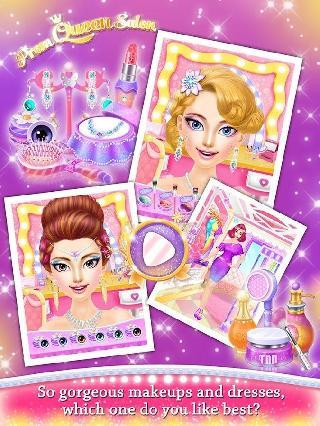 prom queen salon: girls games