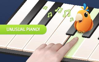 talking parrot piano