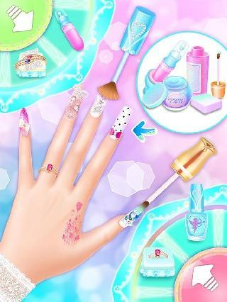 wedding nail salon: girls games