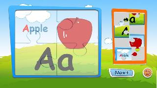 alphabet puzzles and flash cards