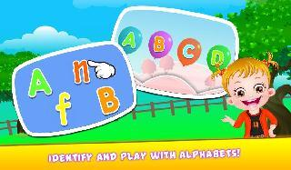 baby hazel alphabets world
