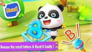 baby panda learns alphabet