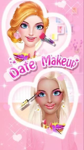 date makeup - love story