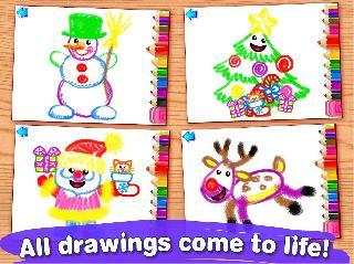 drawing for kids! christmas