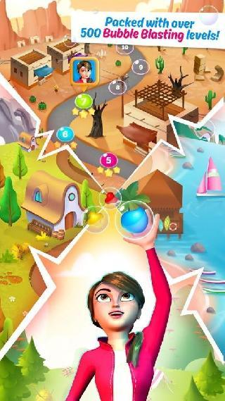 free match 3 game : bubbles
