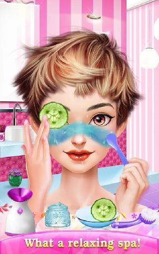 glam doll makeover: chic spa