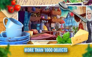 hidden objects kitchen cleaning game