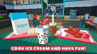 ice cream maker cooking chef