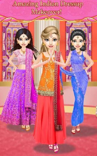 indian princess doll bride dress up salon games