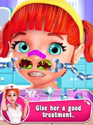 kids er nose surgery simulator