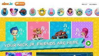 nick jr. - shows and games