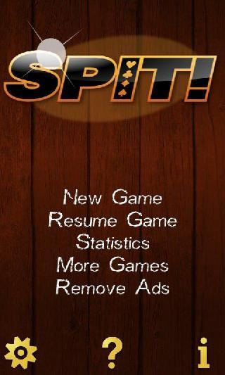 spit ! speed ! card game free