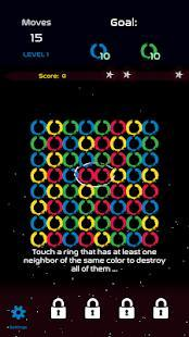 the blast game: matching rings adventure