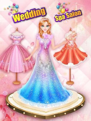 wedding spa salon: girls games