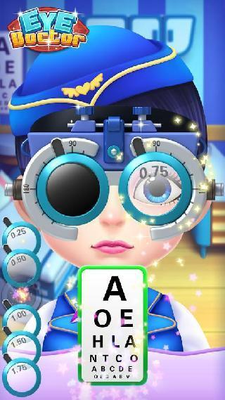 eye doctor  hospital game