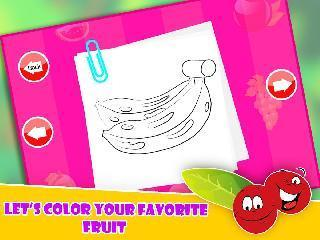 fruit pop coloring for toddler