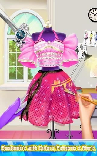 glam doll - fashion designer