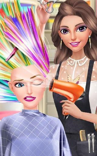 hair fashion summer girl salon