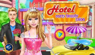 hotel party beauty salon