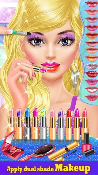 lipstick maker makeup game